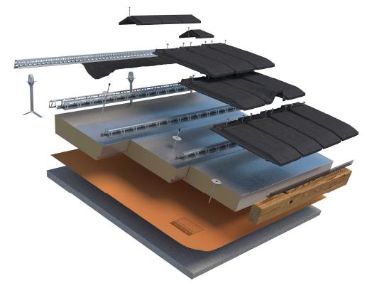 Pacchetto isolante tetto in pronta consegna