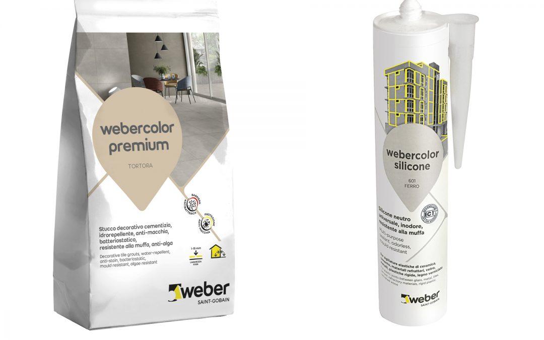 Nuova gamma sigillanti Webercolor